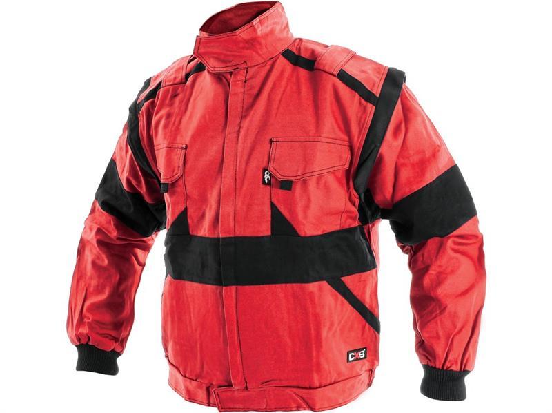 pracovní oděvy-blůza Lux červeno-černá-Canis