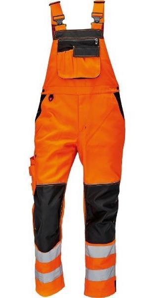 montérkové reflexní výstražné laclové kalhoty Knoxfield