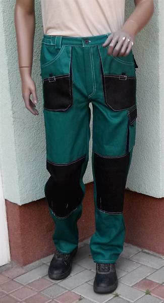 pracovní kalhoty do pasu Marek zelené