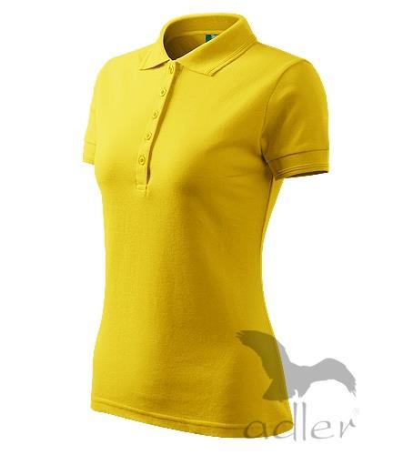 210 Polokošile dámská Pique Polo 200 žlutá