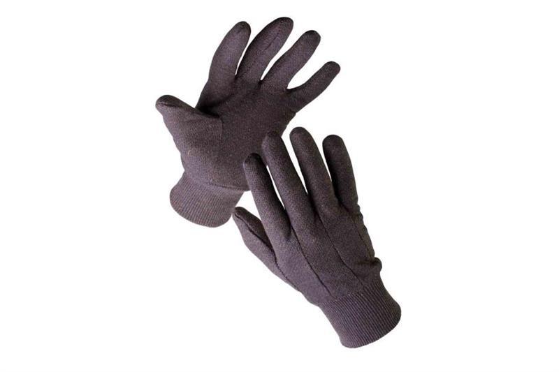 FINCH pracovní rukavice z bavlněné teplákoviny