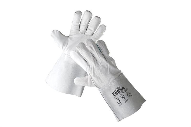 CRANE celokožené svářečské rukavice