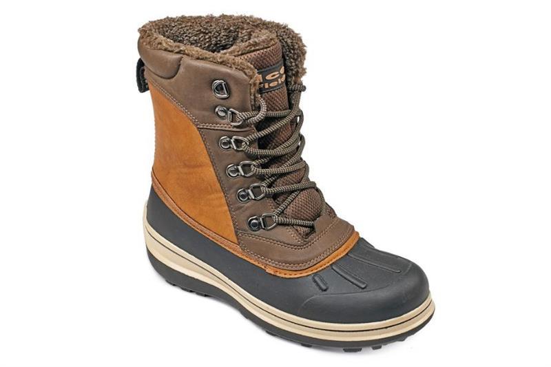Zateplená holeňová obuv MADRON