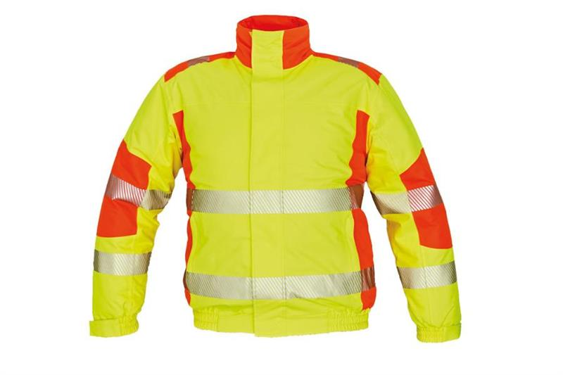 výstražná reflexní zimní bunda Trila