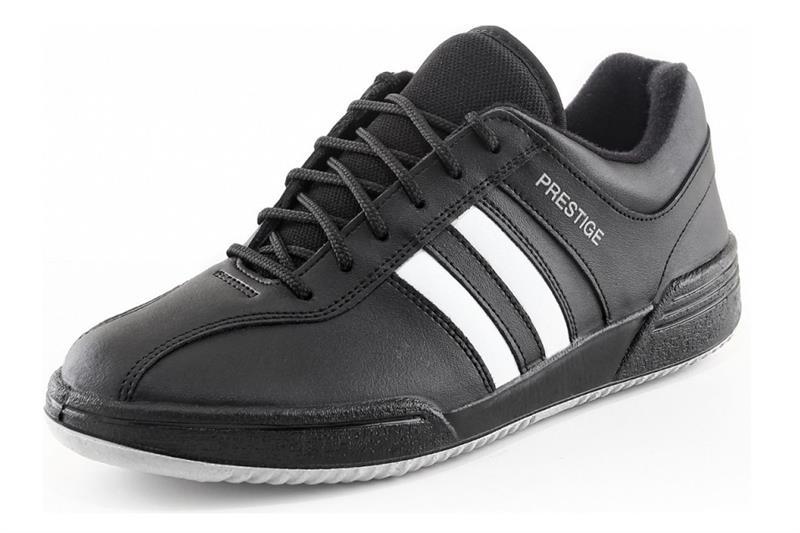 Moleda SPORT pracovní kožená obuv - bílá/černá