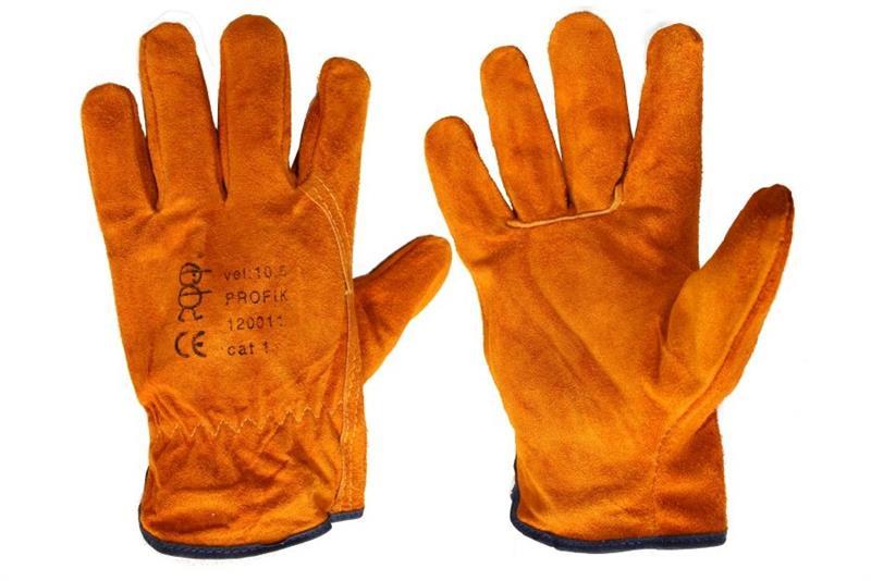 PROFIK celokožené pracovní rukavice