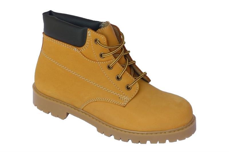 Farmářka KLASIK kotníková pracovní obuv - písková