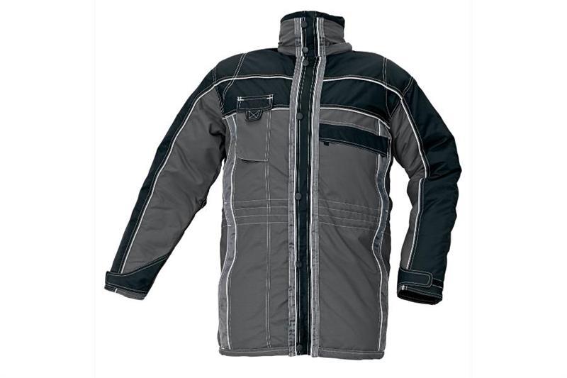 Nevada šedá - kvalitní zimní bunda nepromokavá