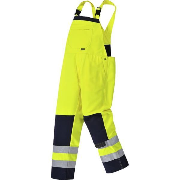 výstražné kalhoty laclové TX72 žluté