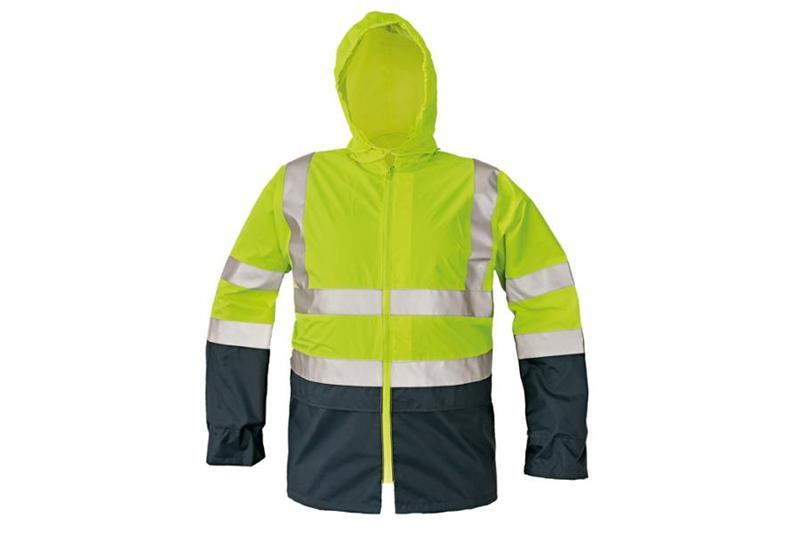 Reflexní výstražná bunda Eping žlutá, nepormokavá