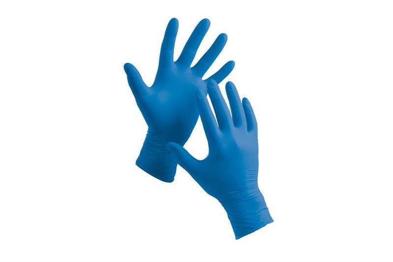 MSM GN90 Vyšetřovací rukavice nitrilové bez pudru