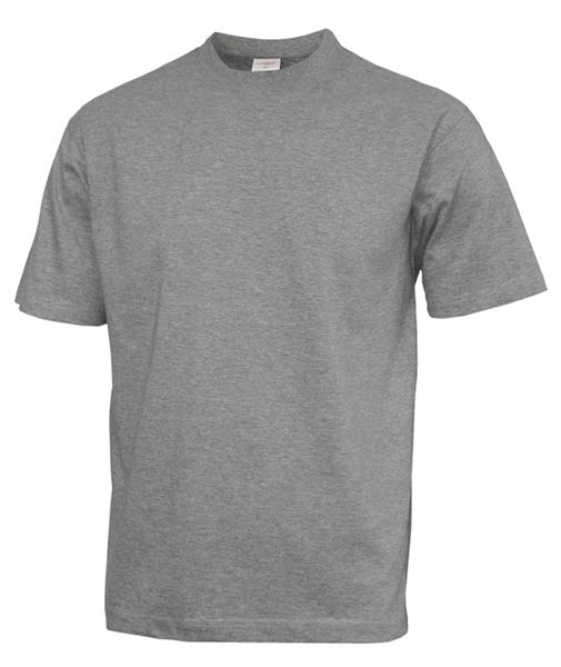 MT01 tričko  šedý melír 180gr