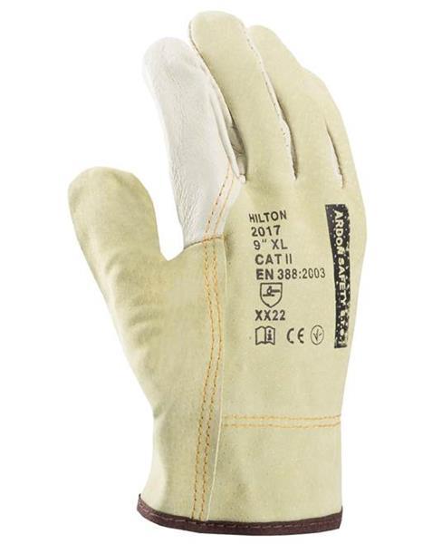 50b8a0f2521 HERON HILTON kožené pracovní rukavice HERON HILTON kožené pracovní rukavice