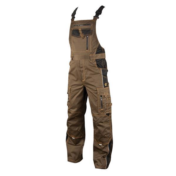 montérkové kalhoty s laclem Ardon Vision hnědé tarmac