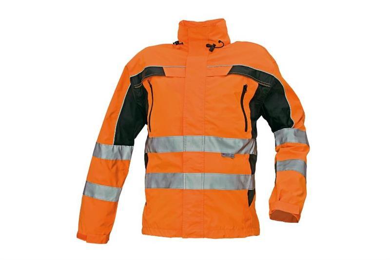Reflexní výstražná bunda TICINO oranžová