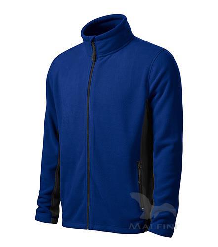 pánská fleece mikina 527 Frosty royal modrá