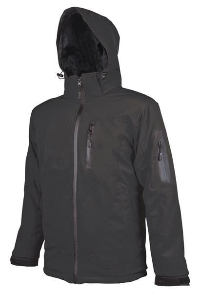 pánská softshellová bunda - pracovní  - SPIRIT černá