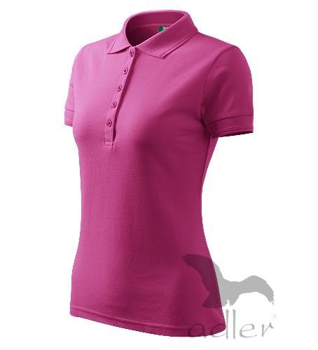 210 Polokošile dámská Pique Polo 200 purpurová