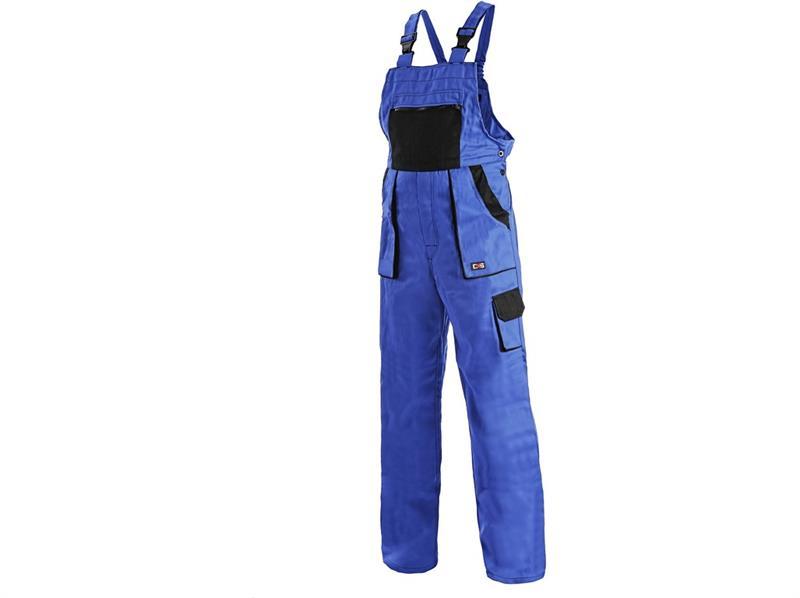 montérkové kalhoty Lux laclové modro-černé-Canis
