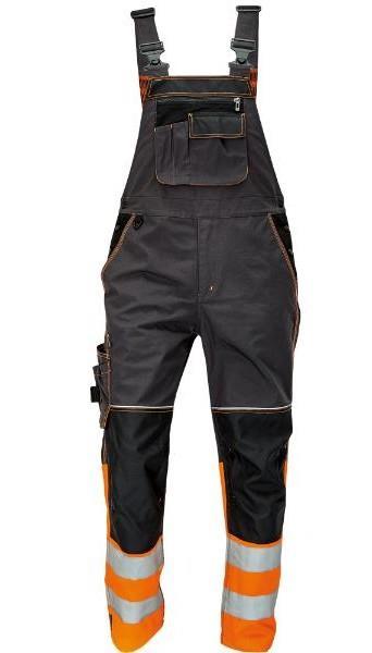 montérkové laclové kalhoty Knoxfield s reflexními prvky