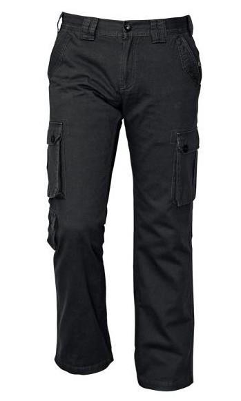 outdoorové kalhoty Chena černé