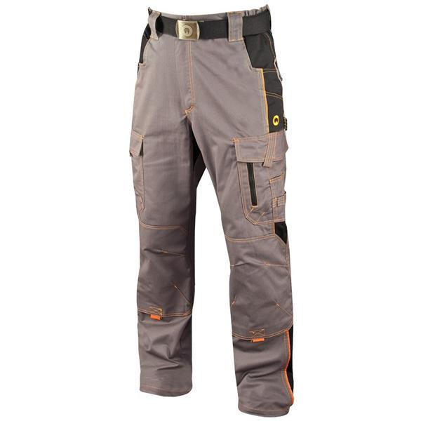montérkové kalhoty do pasu Ardon Vision šedé