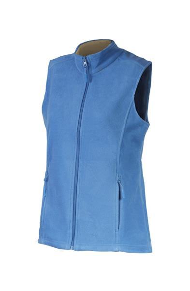 dámská vesta fleece modrá