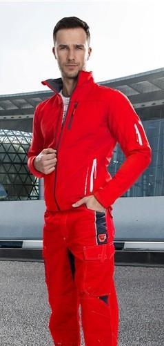 softshellová bunda Vision červená