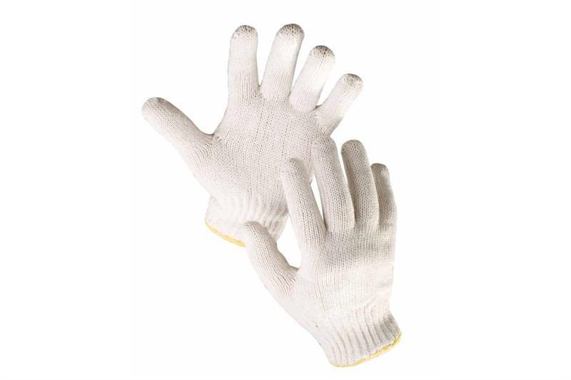 AUK pracovní rukavice bezešvé