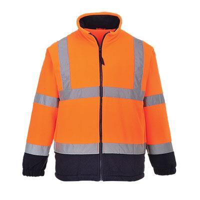 Hi-Vis výstražná fleece bunda