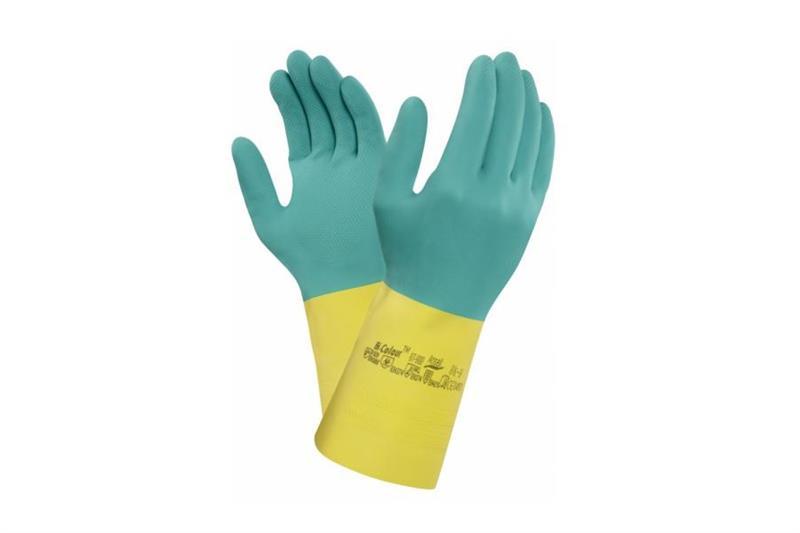 BI-COLOUR 87-900 chemicky odolné rukavice