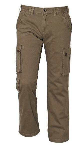 outdoorové kalhoty Chena hnědé
