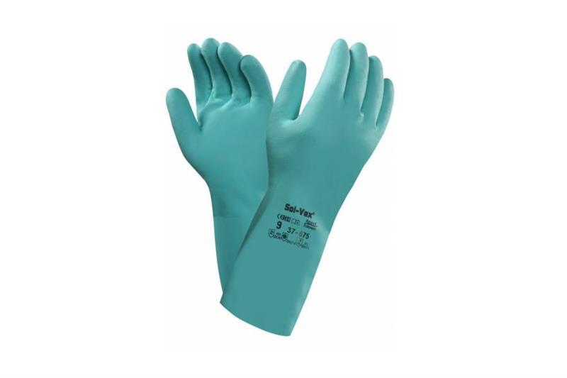 SOL-VEX 37-676 chemicky odolné nitrilové rukavice