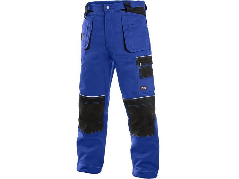 montérkové kalhoty pasové modro/černé Teodor - Canis