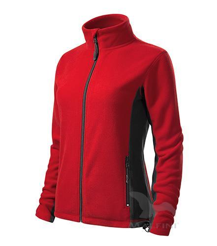 dámská fleece mikina 528 Frosty červená