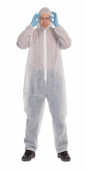 jednorázový oblek proti ušpinění